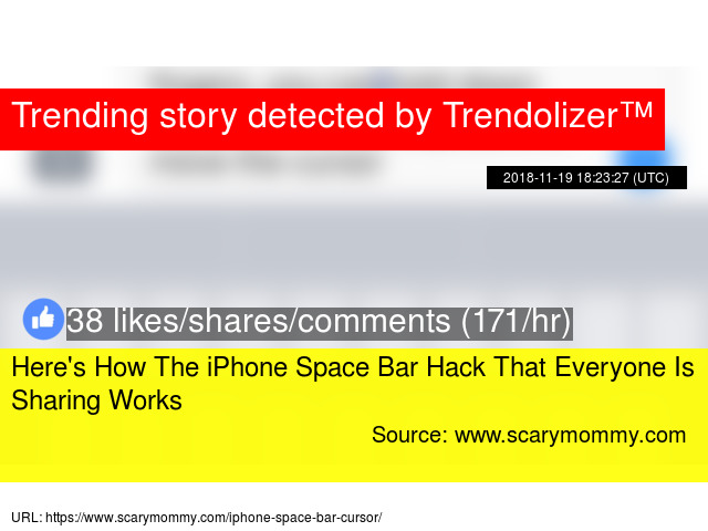 iphone space bar hack not working