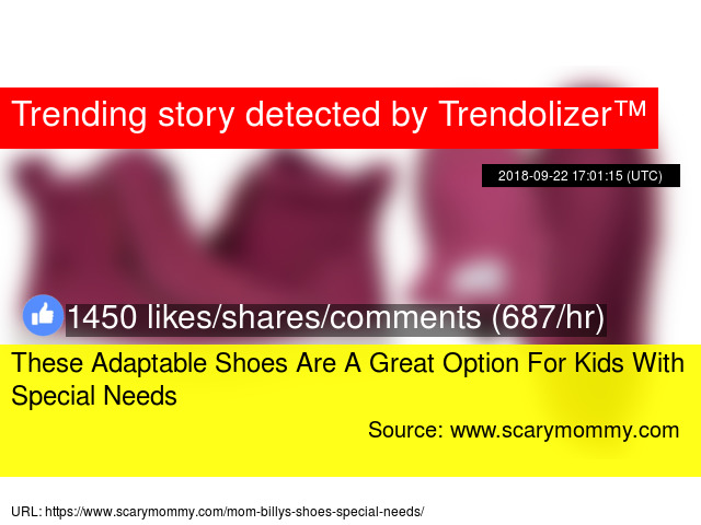 87302b73ecfb These Adaptable Shoes Are A Great Option For Kids With Special Needs